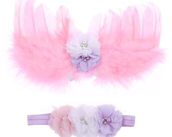 Baby Wings and Headband