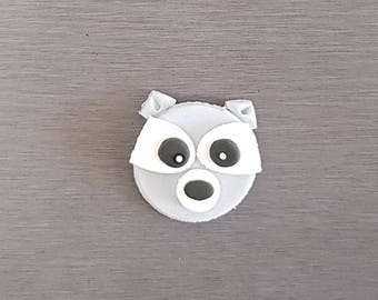 6 x Raccoon Toppers, Woodlands cupcakes toppers, fondant Raccoon decorations, edible fondant woodlands cake decorations, woodlands party