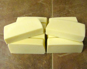 Hand Made Natural Vegan Unscented Castile Cold Process Soap