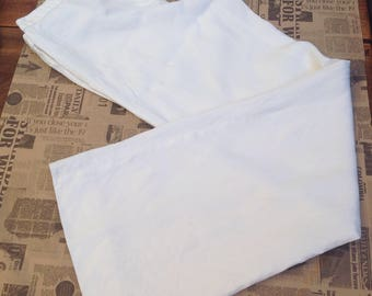 Max Mara pants | Linen pants | Max Mara Linen pants | High waist pants | Vintage Max Mara | White pants | Max Mara