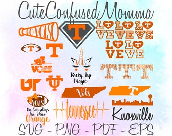 Tennessee Vols Svg, Tennessee Svg, Go Vols, Football Svg, Vols Svg, Tennessee Pride, UT Vols, TN Vols, SVG Bundle, Svg Files for Cricut