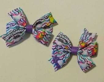"Hatchimals inspired hair bow, character hair bow, 3"" hair bow, party hair bow, Hatchimal inspired egg"