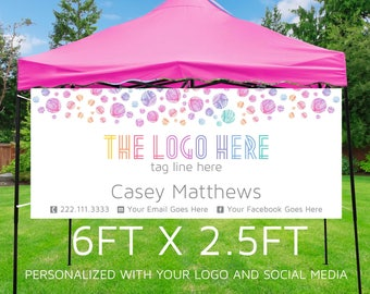 6ft x 2.5ft  Banner Design sure to set your business apart from the rest! **DIGITAL FILE ONLY**