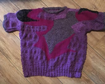Short sleeve autumn jumper