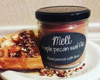 Maple pecan waffle- 12oz candle