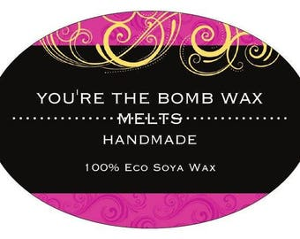 Wax Melts - Individually wrapped and labelled - Lovely new scent list - x 10!!