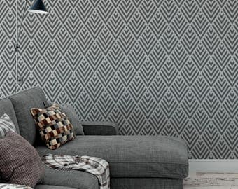 Geometric Stencil - Reusable DIY Craft Stencils of a Geometric Pattern