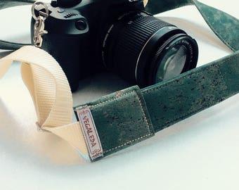 Camera Strap vegan Mississippi Green