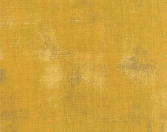 Sedona Sunset #3 - Moda Grunge Basics Mustard (30150 282)