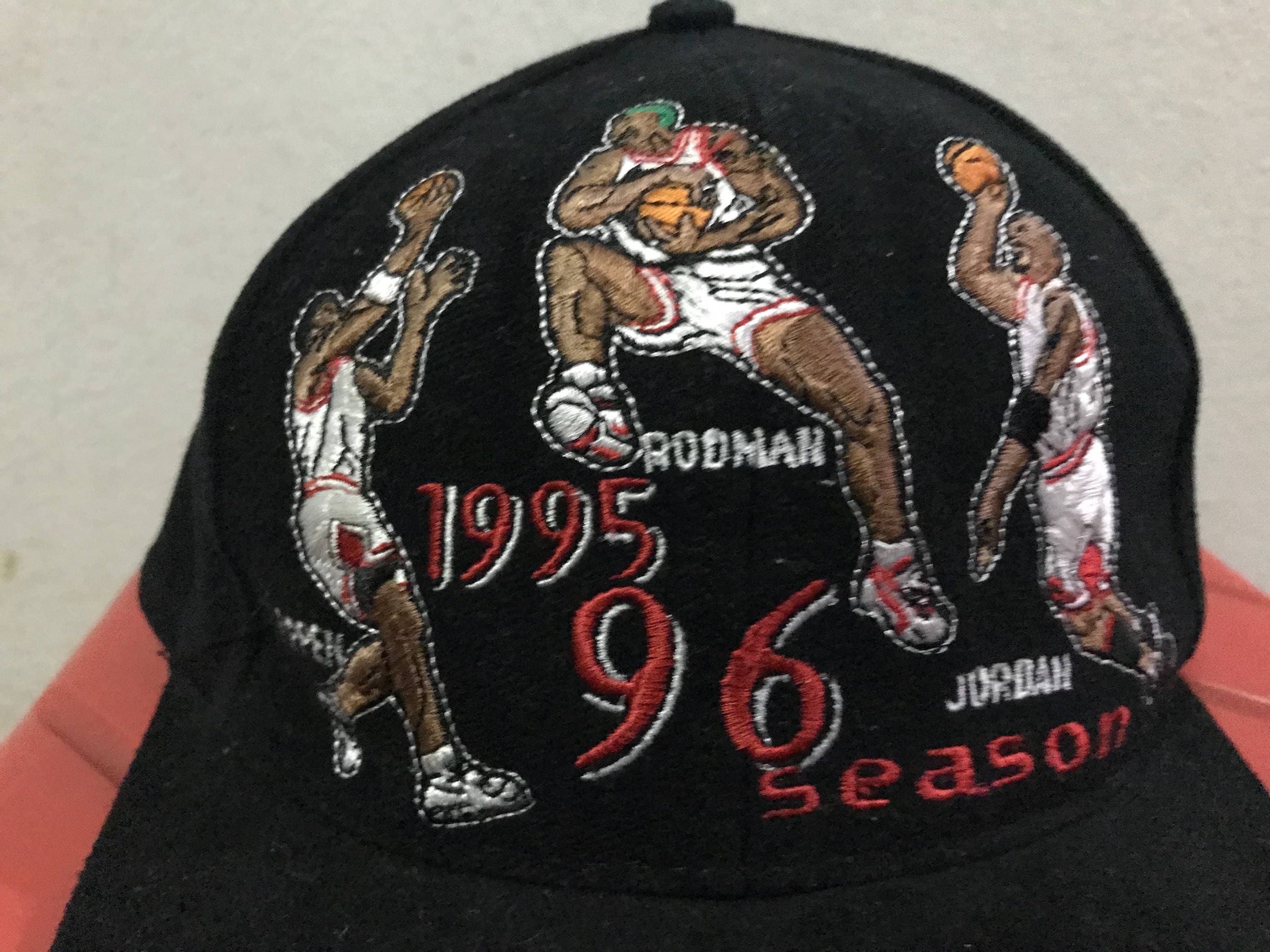 ... shopping vintage chicago bulls snapback hat free shipping 90s dennis  rodman hat michael jordan hat scottie c7295e2a2be