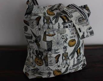 Market Bag:  Victorian Halloween