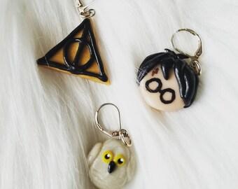 Set of Harry Potter Stitch Markers