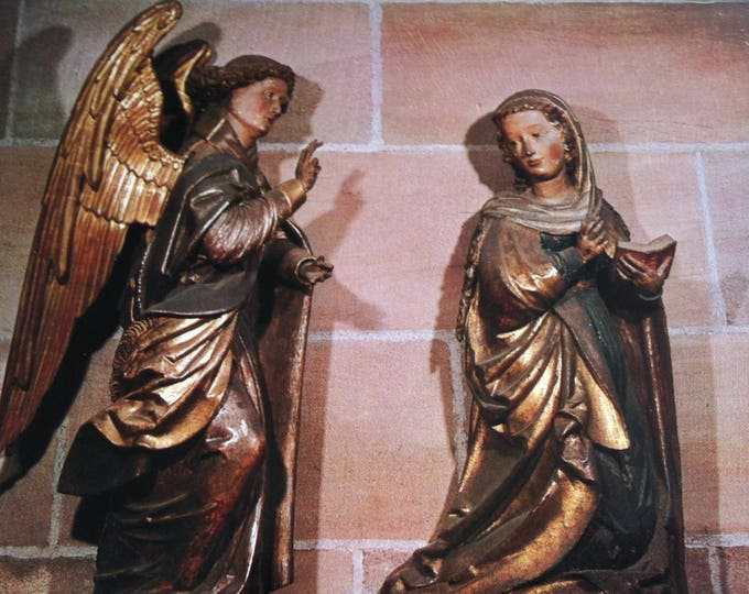 Vintage Religion Nuremberg Frauenkirche Church Postcard Maria Photo