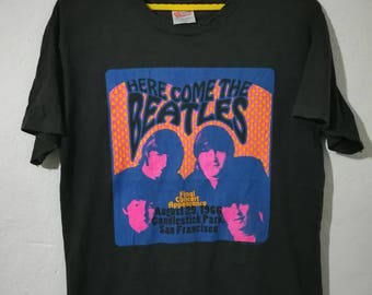 Rare vintage the Beatles t-shirt L size