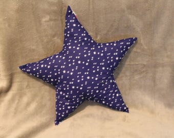 Star pattern double-sided cushion