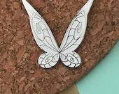Tinkerbell Fairy Wings Fairies Wing Hard Enamel Pin Walt Disney World Disneyland