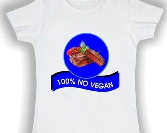 Women's Basic t shirt -100% NOVEGAN