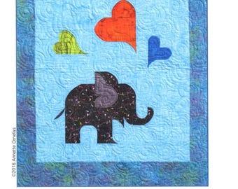 Oliver's Elephant Quilt Pattern