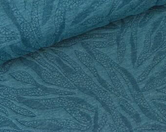 Jacquardjersey Marsa smoke blue (14.90 EUR / meter)