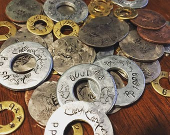 Tabletop RPG Gaming Currency Dungeons - copper silver electrum gold platinum peices - Dragons
