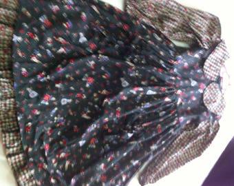 Romantic girl dress, Gr. 116, 100% cotton