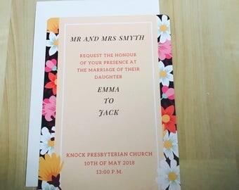 Purple Passion Wedding Invitations