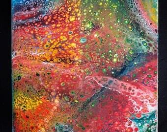 "4"" Acrylic Painting"