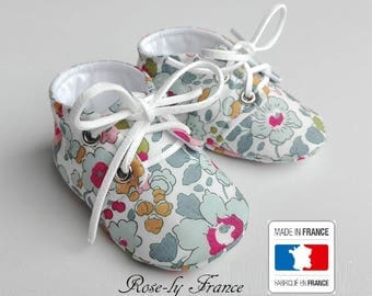 Liberty Betsy porcelain baby shoes