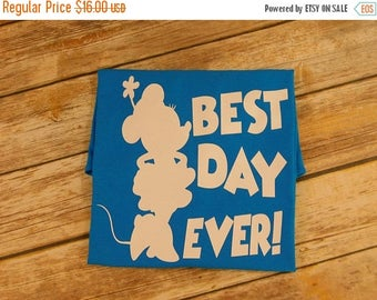 ON SALE Best Day Ever shirt,Disney best day ever,Couple shirts,Family shirts,mickey and minnie shirts,Vacation shirts,Disney tank top, disne