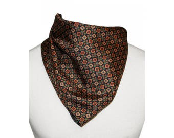 1970's Patterned Scarf