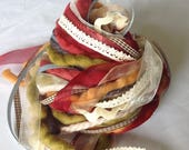 Art Fiber Bundle - Autumn, Weaving,
