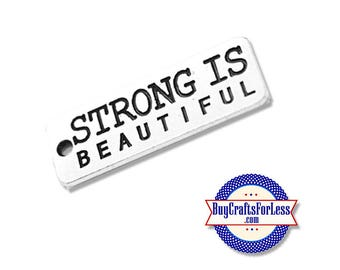 STRONG Affirmation Charms, 4, 8, 12 pcs +FREE SHiPPiNG & Discounts*