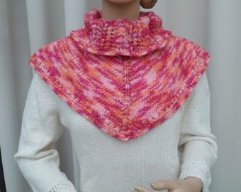 fancy hand made cowl