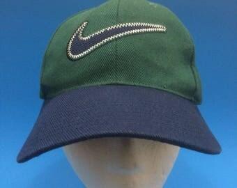 Vintage nike strap back hat cap