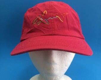Vintage greg norman strap back hat adjustable hat