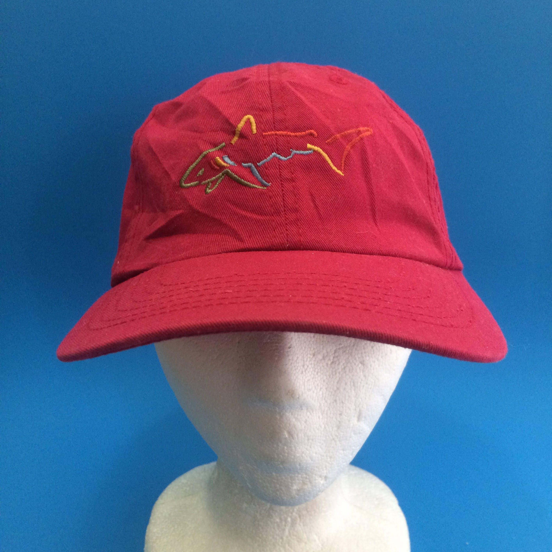 Vintage greg norman strap back hat adjustable hat 8ca5026ec233