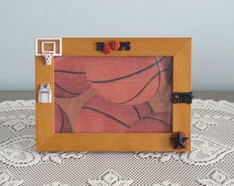 Basketball Hoops Picture Frame