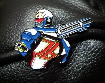 "Overwatch Soldier 76 - 1.5"" Enamel Pin"