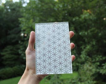 Flower of Life Decorative Glass