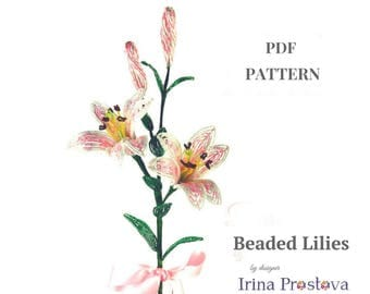 French beaded flower, Beaded flowers, Seed bead tutorials, Beaded rose, Flower bead tutorial, Beaded flowers pdf, French bead tutorial