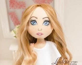 Melania Trump Custom doll that look like you Portrait rag doll Personalized dolls portrait dolls Personalized fabric doll cloth doll gift