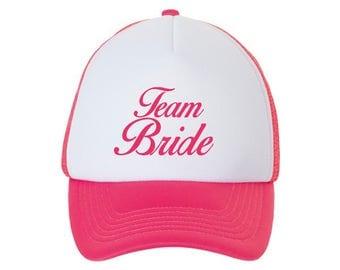 BRIDE / TEAM BRIDE / Bachelorette Wedding Accessories / Wedding Hats / Cap Hat
