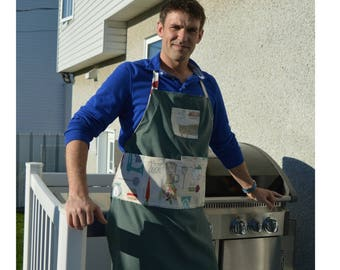 Apron for everyday cooking for man and  woman