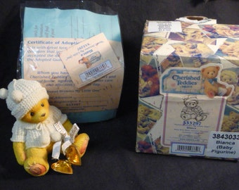 Cherished Teddies Bianca Sweet Dreams My Little One 1999 533297 Boxed