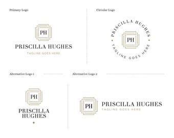 Mini Branding Set, Premade Mini Branding Kit, Branding Logo, Branding Package, Brand Logo Design, Business Branding, Boutique Branding