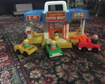 Vintage Fisher Price Little Mart