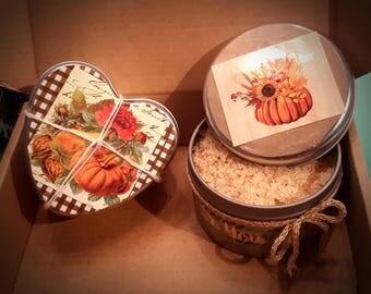 Pumpkin-Caramel Sugar Scrub