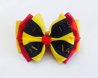 School Hair Bow
