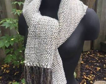 Warm and Cozy Handwoven Women's Autumn Scarf