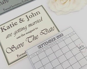 Easter Sale Personalised Magnetic Save The Dates. Wedding Day. Personalised gift. Wedding ideas. Bride and Groom. Invitations. Party. Weddin